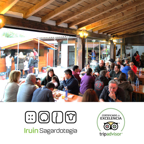 Iruin Cider House, the best restaurant in Zubieta to TripAdvisor