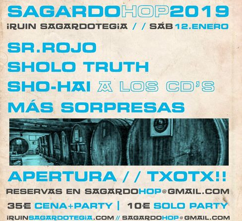 SagardoHop 2019 Iruin Sagardotegia